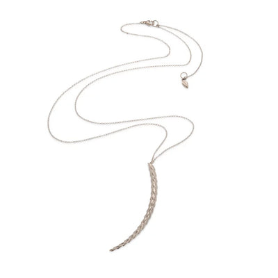 Viper Necklace Silver - Large