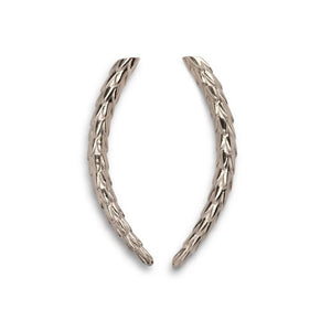 Viper Earrings Silver - Small