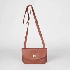 Georgia Shoulder Bag Brown Smooth