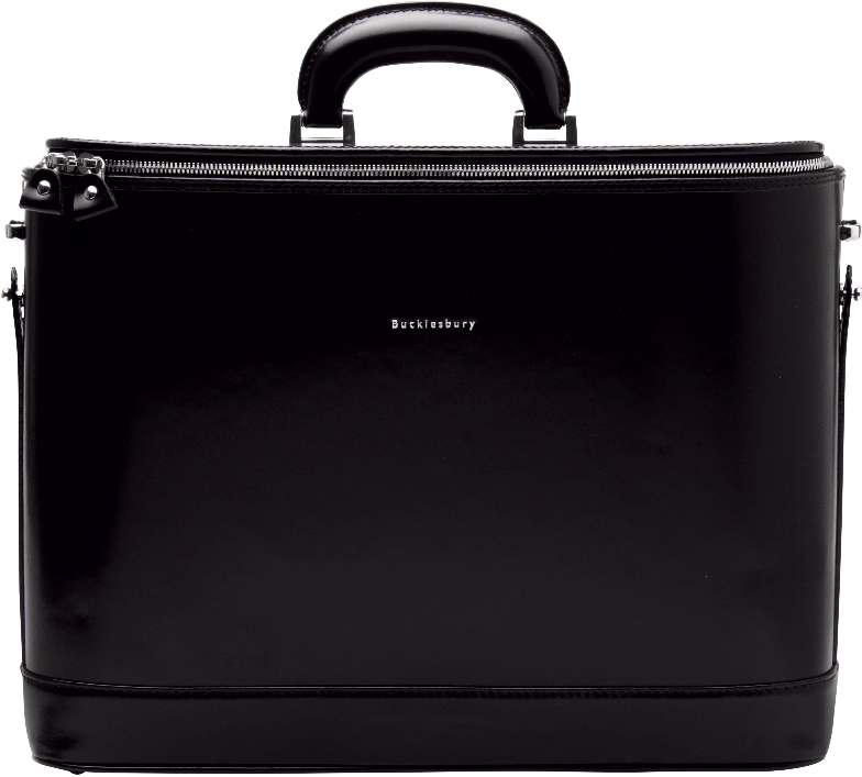 Laptop bag - Black - 17""