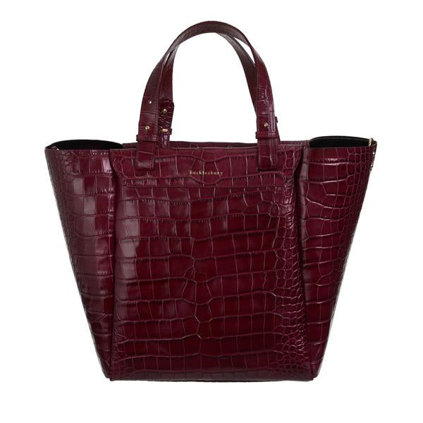 Tote Bag - Red Croco