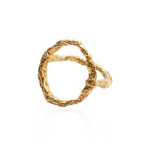Illusion Siska Rose Gold Ring