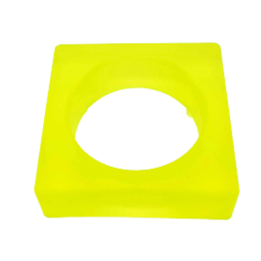 SQUARE Jelly Bangle - Lime