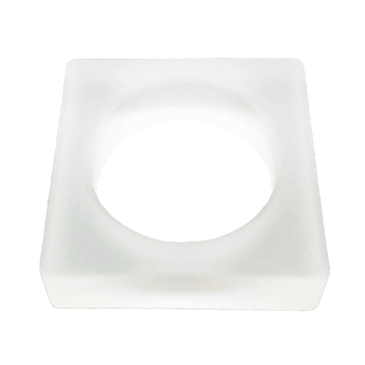 SQUARE Jelly Bangle - Transparent