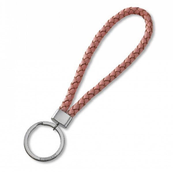 Key Chain - Leather - Pink