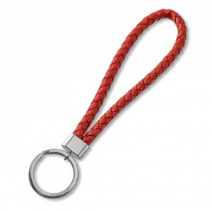 Key Chain - Leather - Red