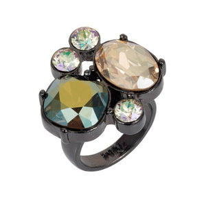 Cocktail Ring - Green Mix