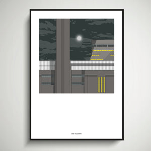 Tate Modern (Night) A4 Print