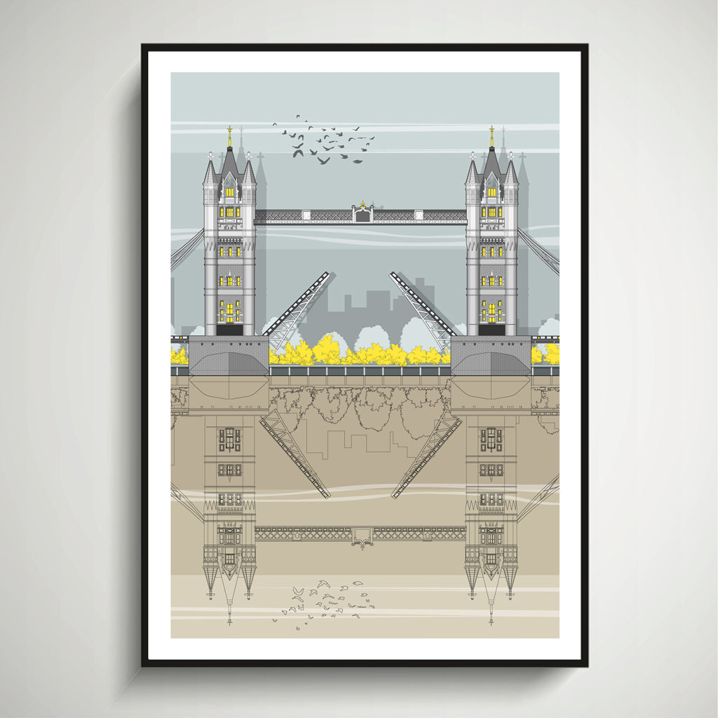 Tower Bridge (Day) A3 Print
