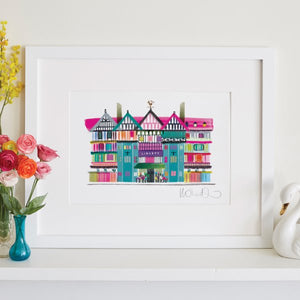 A4 Liberty Of London Print