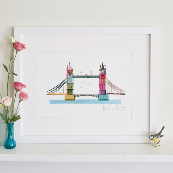 A3 Tower Bridge Print