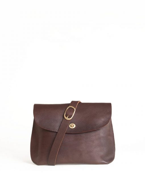 Jenny Shoulder Bag Large Brown