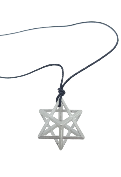 Plutonic Solids Necklace - Silver - Star