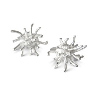 Magic Mermaids Silver Ear Studs