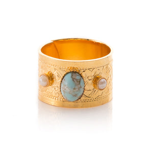 Phedre Turquoise Ring
