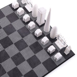 London Chess Set + Wooden Board