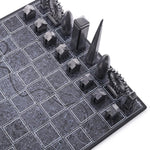 London Chess Set - Premium Metal + City Map Board