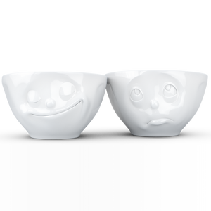 Bowl set 2 - 200ml - Happy & Oh please