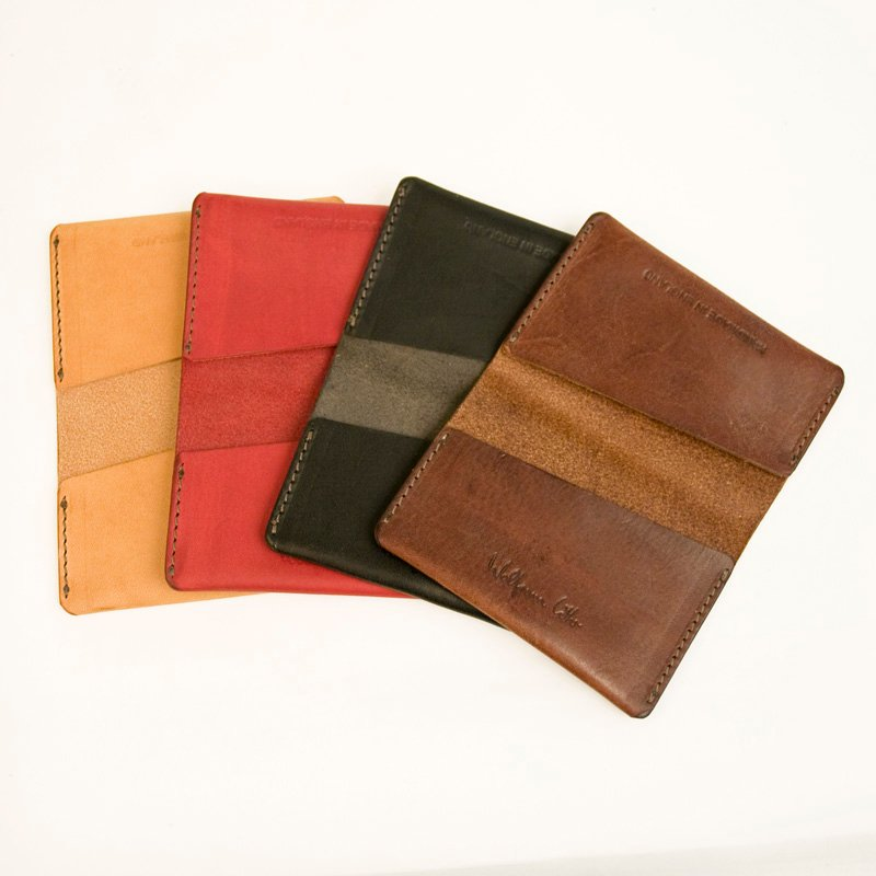 Cardholder - Fold - Red