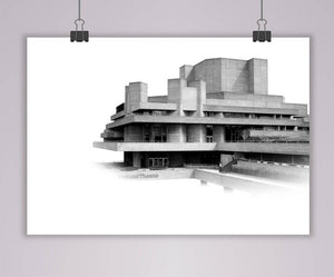National Gallery A2 Print