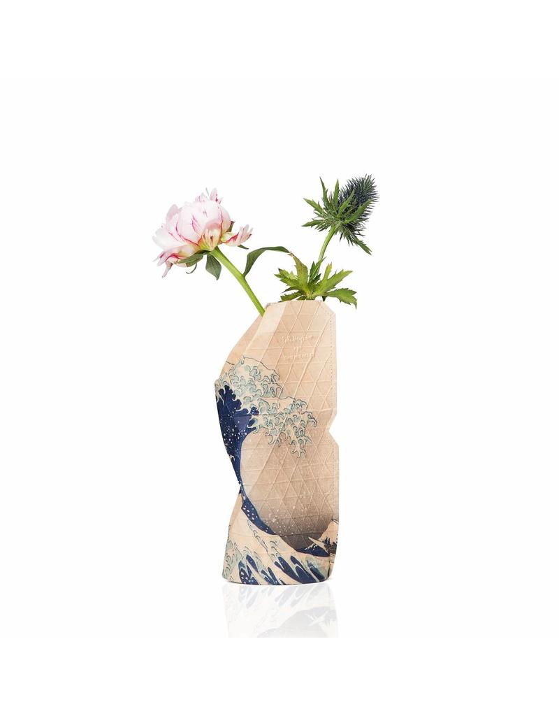 Small Paper Vase - The Wave