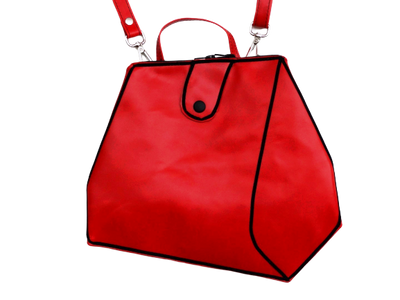 Sara - Red Leather Bag