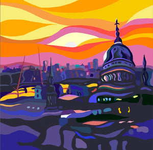 St Paul's Sunset by Sarah Fosse