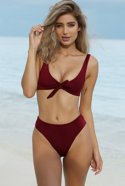 Avery Knot Swimsuit