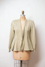 Load image into Gallery viewer, 1980s Peplum Sweatshirt | Norma Kamali