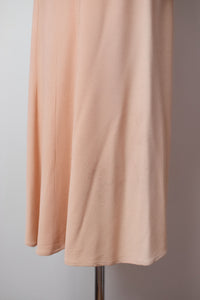 1930s Blush Crepe Dress