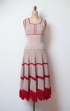 Load image into Gallery viewer, 1970s Glitter Knit Dress