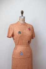 Load image into Gallery viewer, 1940s Ribbon Knit Set