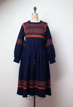 Load image into Gallery viewer, 1970s Balloon Sleeve Knit Dress | Josephine Baker