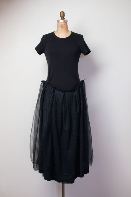 1990s Tulle T-shirt Dress | Comme Des Garcons