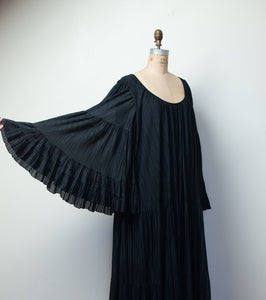 1970s Angel Sleeve Dress  | Giorgio Sant'Angelo