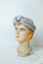 Load image into Gallery viewer, 1980s Silver Lurex Padded Headband