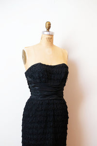 1950s Beaded Cocktail Dress | Ceil Champman