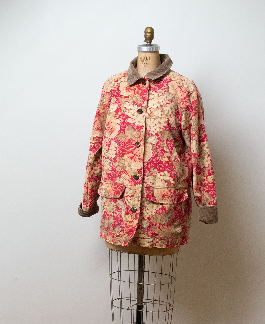 1990s Floral Barn Jacket | L.L. Bean