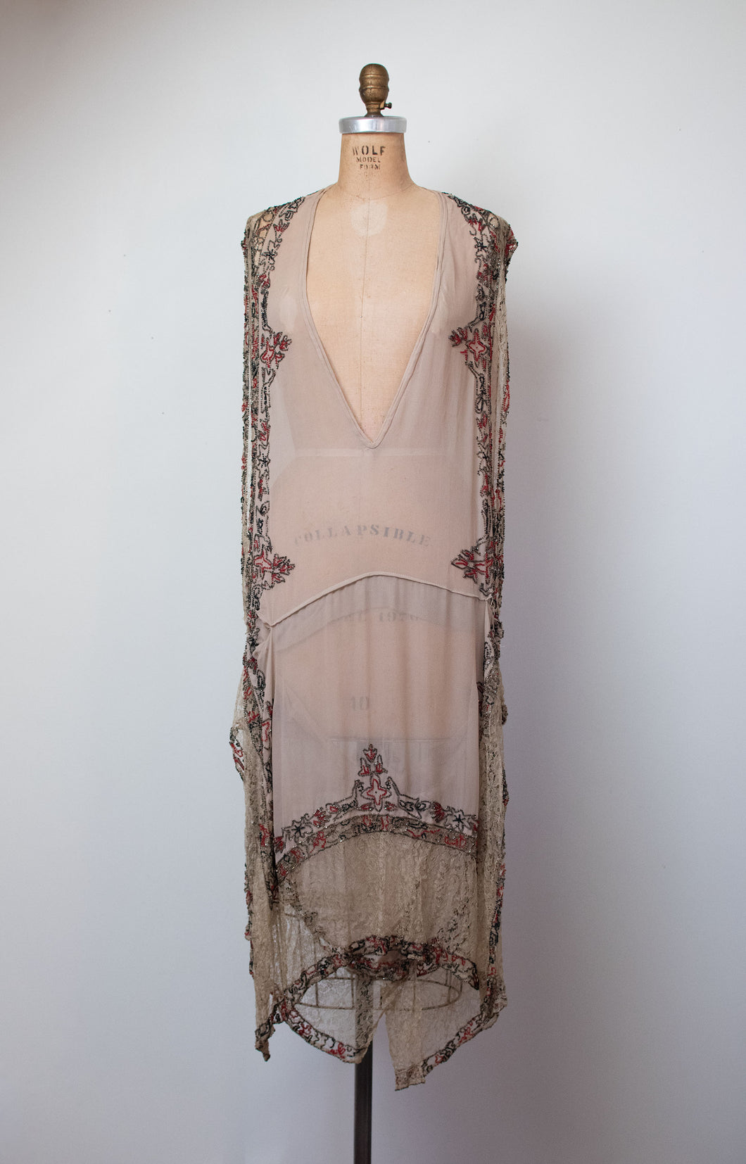 1920s Beaded Dress | AS IS