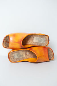 "1970s Christian Vermonet El Greco ""Donut"" Shoes"