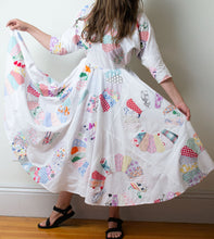 Load image into Gallery viewer, 1980s Patchwork Dress | Love Apples by Stephanie
