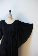 Load image into Gallery viewer, 1970s Angel Sleeve Cotton Gauze Dress