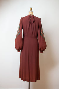 1930s Bishop Sleeve Dress | Chanel Adaptation