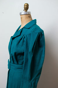1980s Jewel Tone Dress | Karen Alexander