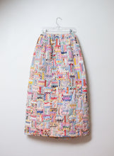 Load image into Gallery viewer, 1970s Patchwork Quilted Skirt