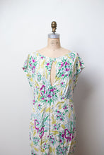 Load image into Gallery viewer, 1980s Floral Print Dress | Norma Kamali