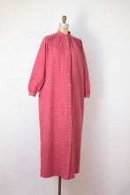 Load image into Gallery viewer, 1970s Flannel Paisley Dusty Pink Dress | Marimekko
