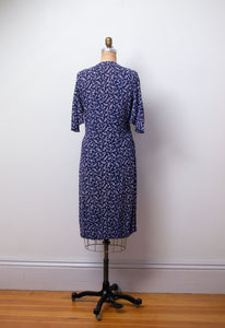1930s Floral print dress | AS IS