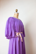 Load image into Gallery viewer, 1980s Orchid Gauze Dress