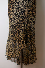 Load image into Gallery viewer, 1990s Silk Leopard Print Bias Cut Dress | Cache
